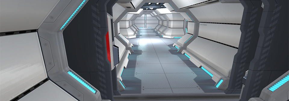 Upcoming Clean Sci-Fi environment pack available at the Unity Asset Store